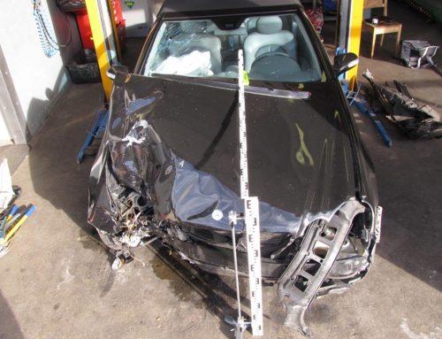 Nach Unfall